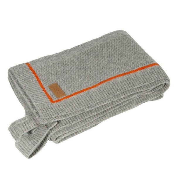 iCandy Blanket - Cableknit Grey