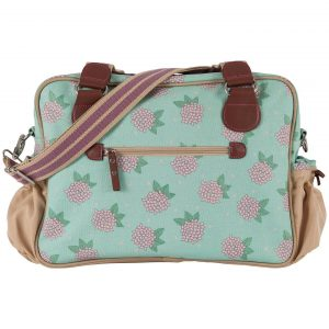 Not So Plain Jane Changing Bag - Hydrangea