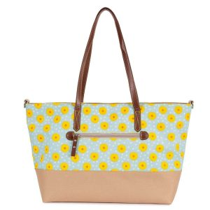 Notting Hill Tote Changing Bag – Sunflowers