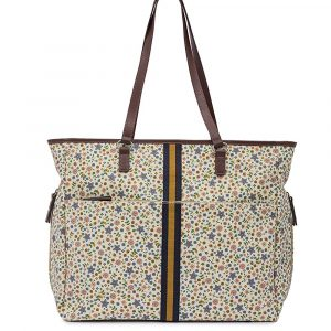 Henrietta Tote Changing Bag – Busy Bees