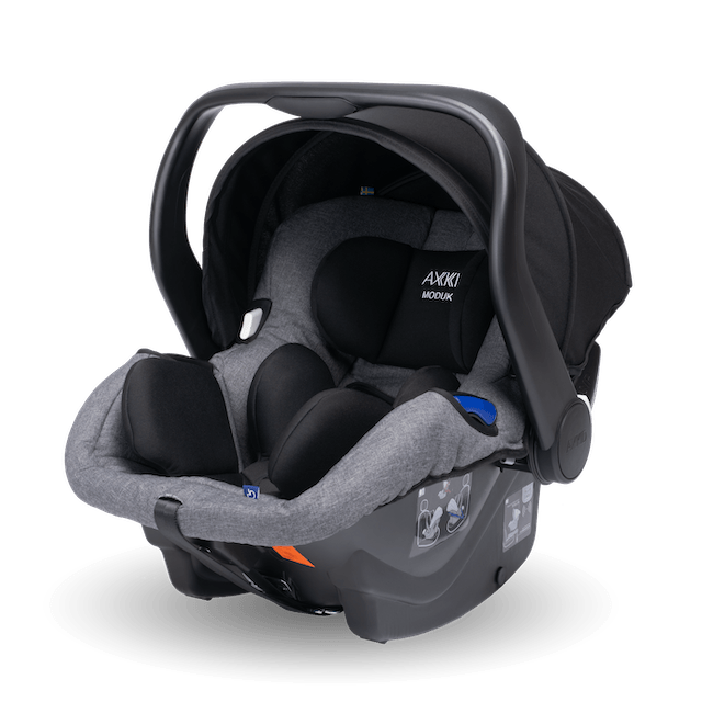 Axkid Modukid i-Size Infant Car Seat - Grey