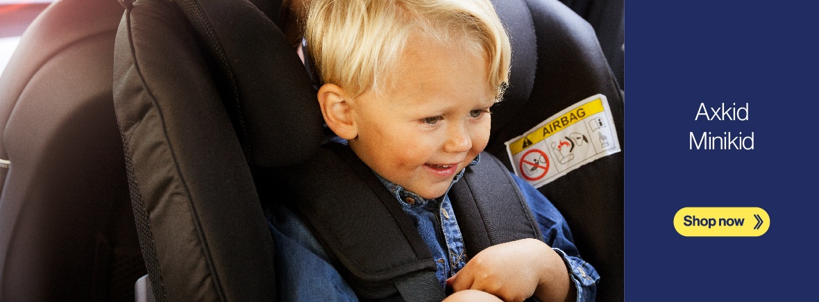 Axkid Minikid | Rear-facing car seat from Axkid